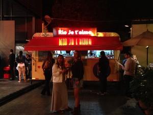 Rolland Vilard assume food truck da Casa da França por um dia