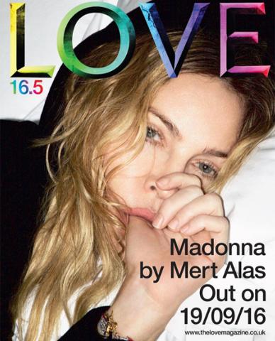 The Love Magazine, edição especial com Madonna e Rocco || Créditos: Reprodução Instagram/ Divulgação