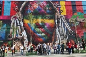 Mural do Kobra no Boulevard Olímpico se torna parte do legado da Rio2016
