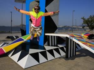 AVAF abre instalação que serve de pista de skate na Rio 2016
