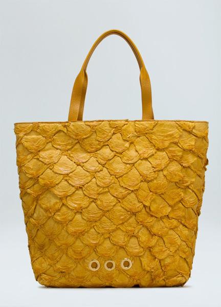Pirarucu Cabas Bag da Osklen  || Créditos: Reprodução