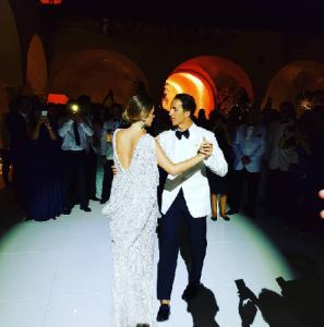 Luiza Nascimento e Jalal Sefraoui dizem sim em noite mágica em Capri