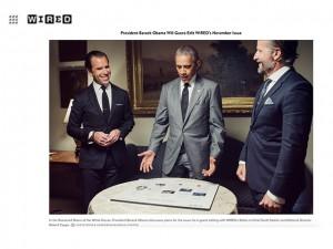 Barack Obama será editor convidado de revista sobre tecnologia