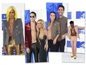 Descamisados roubam a cena durante o VMA 2016. Vem entender!