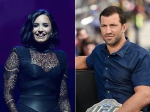 Demi Lovato estaria namorando Luke Rockhold, o bonitão do UFC