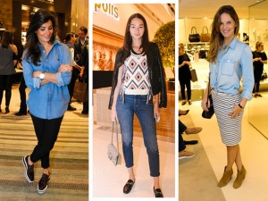 Jeans em versões mil dão o tom das bem vestidas da semana. As eleitas?