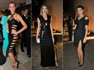 Recortes dominam as escolhas das bem vestidas de semana agitada em SP