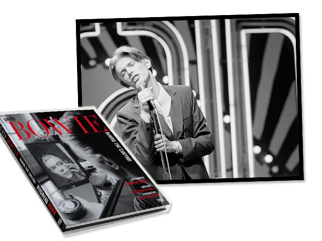Livro traz cliques inéditos e íntimos de David Bowie por Andrew Kent    Créditos: Divulgação
