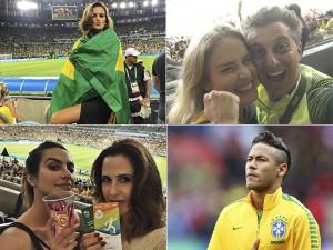 Famosos comemoram a vitória do futebol brasileiro sobre a Alemanha