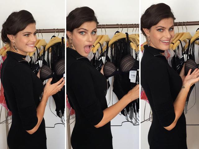 sabeli Fontana lança linha de lingerie em parceria com Morena Rosa || Créditos: Divulgação