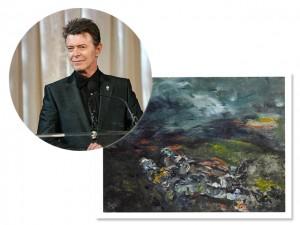 Mais uma obra da coleção de arte de David Bowie vai a leilão