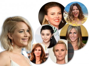 Jennifer Lawrence lidera mais uma vez lista das atrizes mais bem pagas