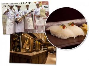 Em clima de pódio, sushiman brasileiro ganha campeonato mundial no Japão