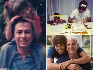 Tatá Werneck, Kaká, Bruno Gagliasso e mais fazem – e ganham – homenagens pelo Dia dos Pais