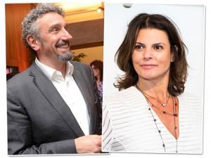 Neocasal à vista! Daniela Cutait e Emmanuel Bassoleil estão namorando