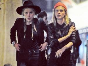 Amber Heard comemora entre amigas fim da briga judicial com Johnny Depp