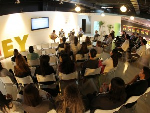 Olympians Reunion Centre by EY recebeu talk sobre futuro do trabalho