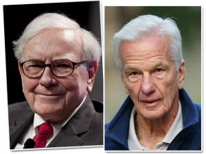 Warren Buffett desembarcou no Rio a convite de Jorge Paulo Lemann