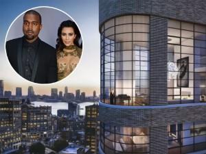 Penthouse milionária em NY é oferecida a Kim Kardashian e Kanye West