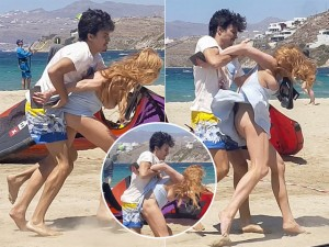 Lindsay Lohan fala sobre agressão que levou ao fim do noivado com Egor Tarabasov