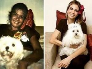 Luciana Gimenez faz antes e depois e mostra que algo não mudou. O quê?