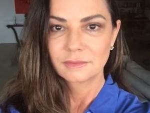 Luiza Brunet usa rede social para comemorar 10 anos da Lei Maria da Penha