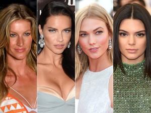 Gisele e Adriana Lima lideram lista das modelos mais bem pagas do mundo