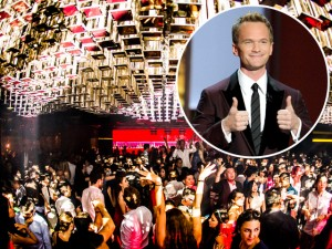 "Astro de ""How I Met Your Mother"" inaugura balada deluxe em NY"