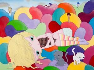 Nina Pandolfo apresenta exposição em Londres sobre a força dos sentimentos femininos