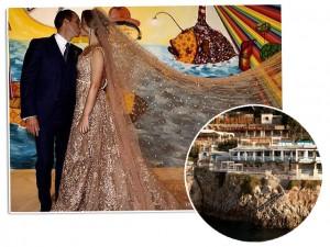 Capri ferve com os preparativos para o casamento de Luiza Nascimento