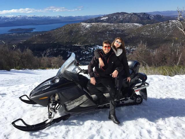 Klebber Toleto e Camila Queiroz engatam férias românticas em Bariloche  ||  Créditos: Reprodução Instagram