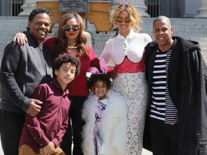 Álbum de fotos: Beyoncé posta cliques de visita da família à Casa Branca
