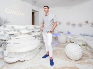 """Phelps na noite carioca: """"Não existe melhor maneira de terminar uma carreira"""""""