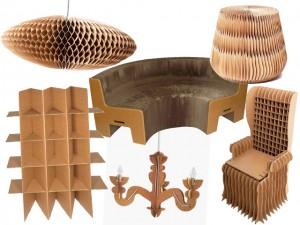 Lá em Casa: móveis de papelão na casa dos sonhos com a Crafta Inteligente