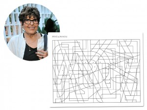 Regina Silveira estreia projeto de arte em revista de palavras cruzadas