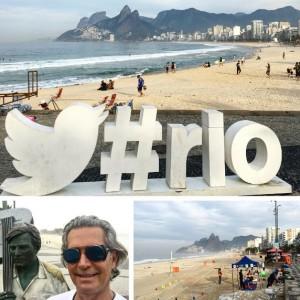 Cacá de Souza dá rasante na Rio2016 e lembra tempos em que saltava