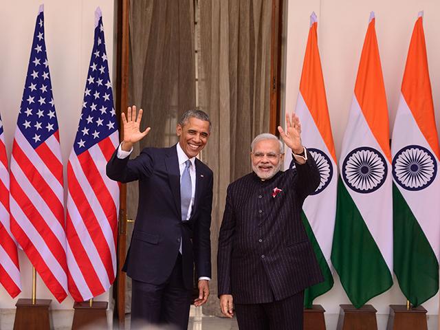 Barack Obama e Narendra Modi