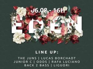 Agito Eden, da We Clap, vira sunset em nova edição neste sábado