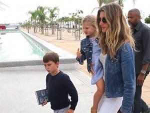 Gisele e filhos conheram o Museu do Amanhã. Vem dar um giro com eles!