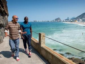 Christian Louboutin e Henri Tai no Rio