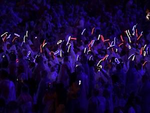Usar e brilhar: os tênis luminosos da delegação britânica nas Olimpíadas