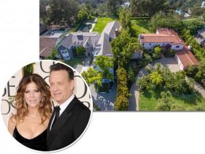 Tom Hanks e Rita Wilson colocam à venda mansões vizinhas em LA