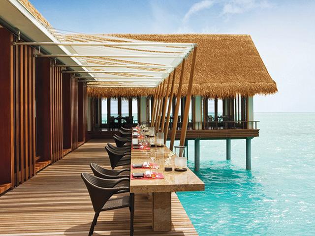 Restaurante Tapasake nas Maldivas. Que tal?