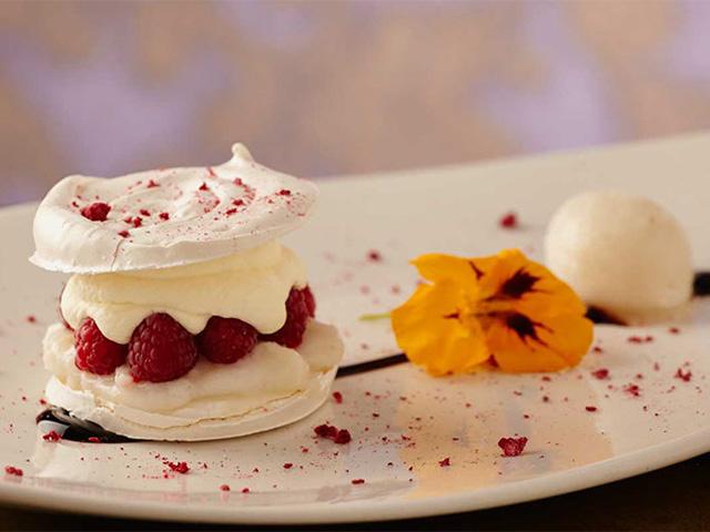 Uma das famosas sobremesas do restaurante Criterión, de Bogotá || Crédito: Divulgação