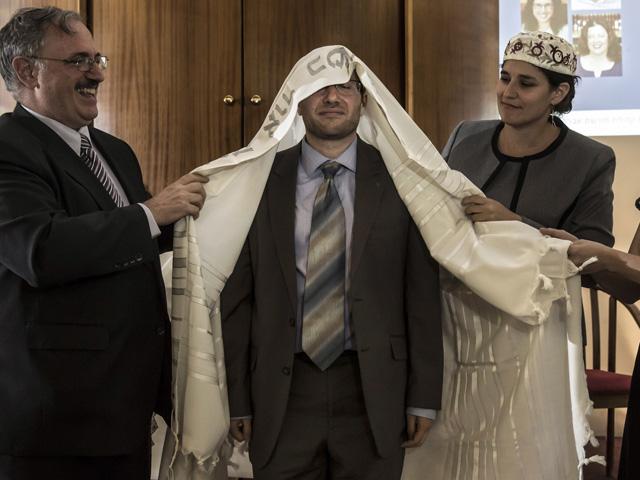Mideast Israel Facebook Rabbi