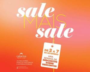 Catarina Fashion Outlet arma Sale Mais Sale, com preços ainda mais baixos