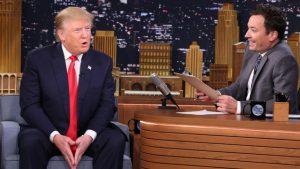 Jimmy Fallon pega leve com Donald Trump e irrita seus telespectadores