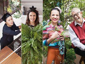 Do jardim à sala, glamurettes entregam suas plantas de estimação em casa