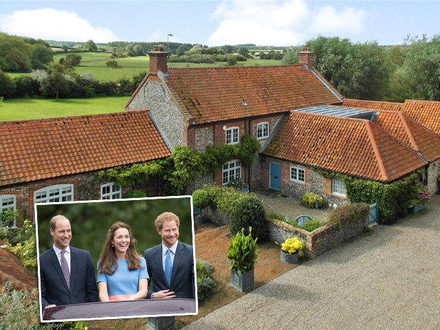 Casa do princípe Willian e Kathe Middelton em Norfolk || Créditos: Getty Images
