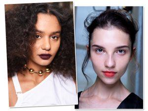 Glamurama entrega passo a passo de dois makes da semana de moda de NY